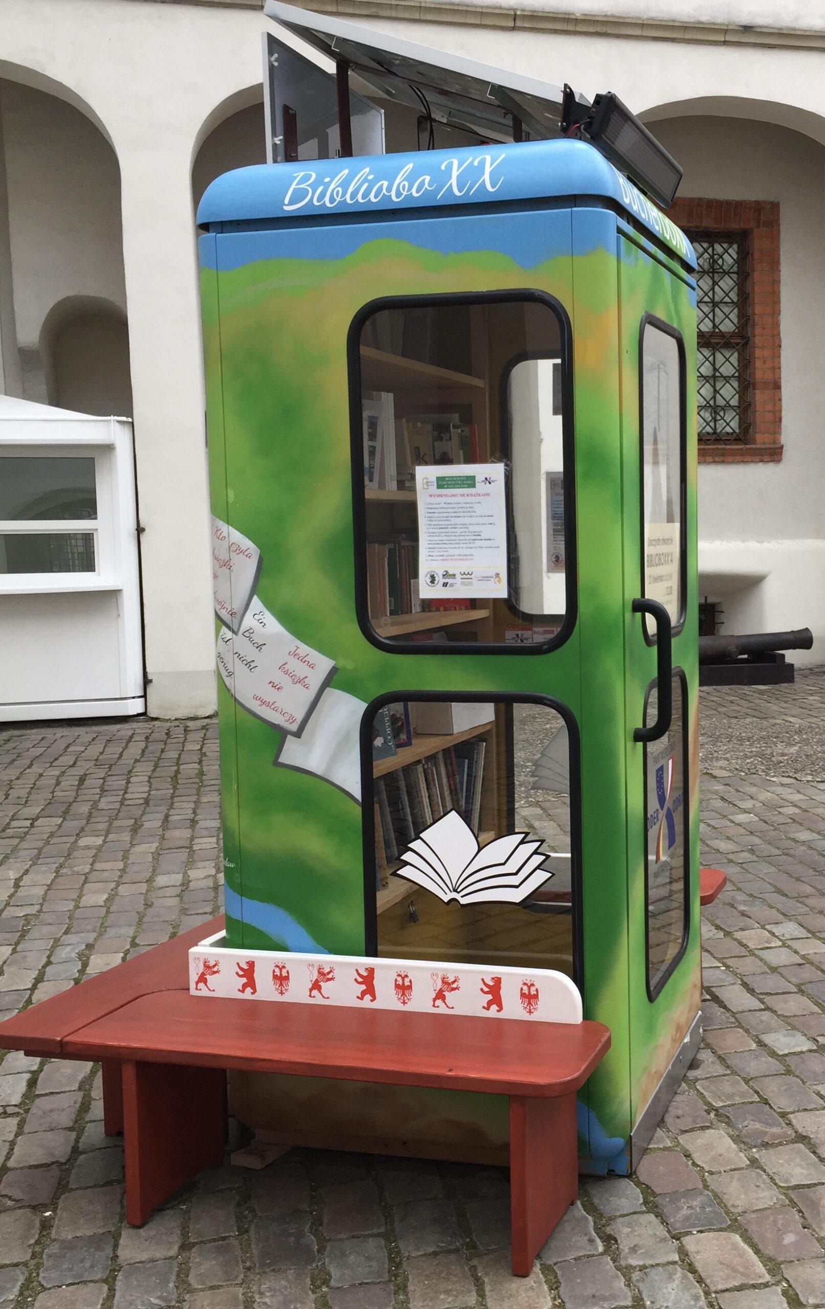 BiblioboXX Oder-Partnerschaft Stettin